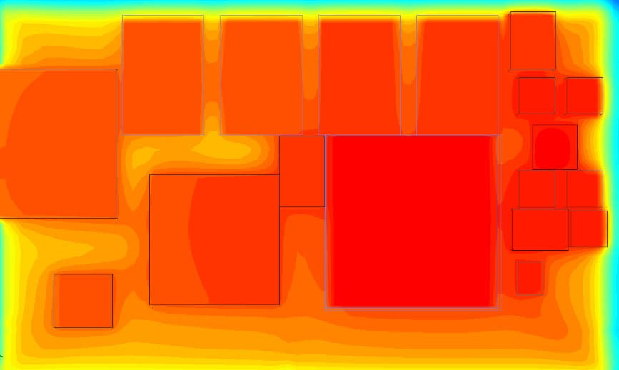 Thermal analysis of SMARC module